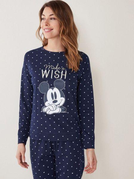 Пижама пижамный синий Women'secret