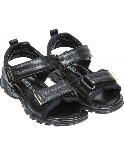 Пляжные черные сандалии Cesare Paciotti
