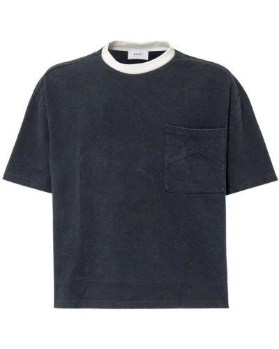 Czarny t-shirt Rhude