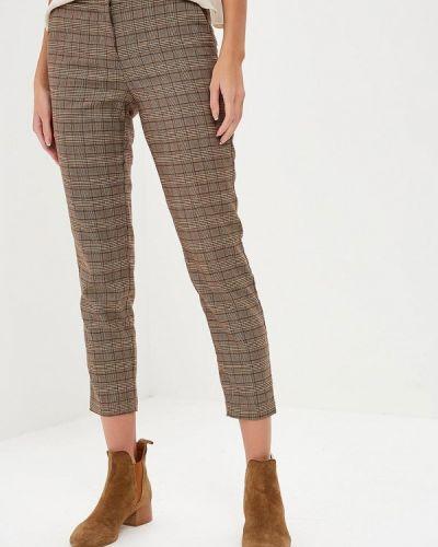 Коричневые классические брюки Savage
