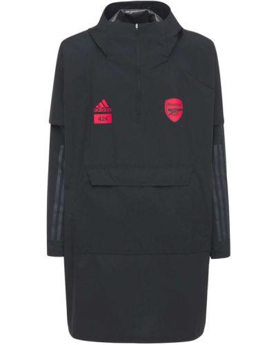 Черное пончо Adidas Originals