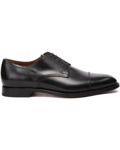 Кожаные туфли закрытые круглые Franceschetti