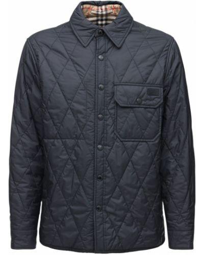 Рубашка с карманами - черная Burberry