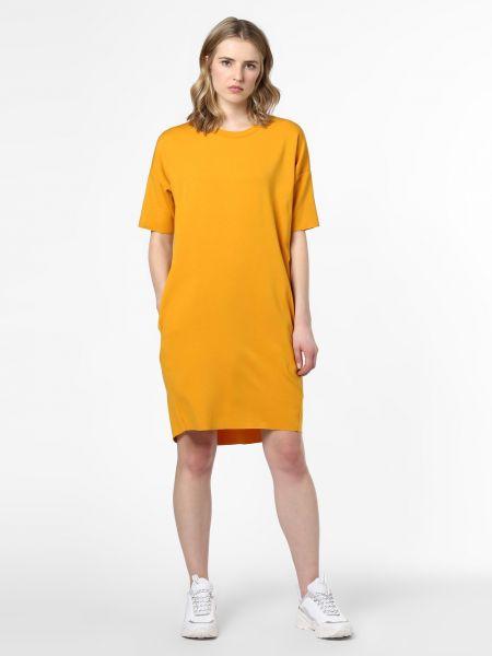 Sukienka mini - żółta Minimum