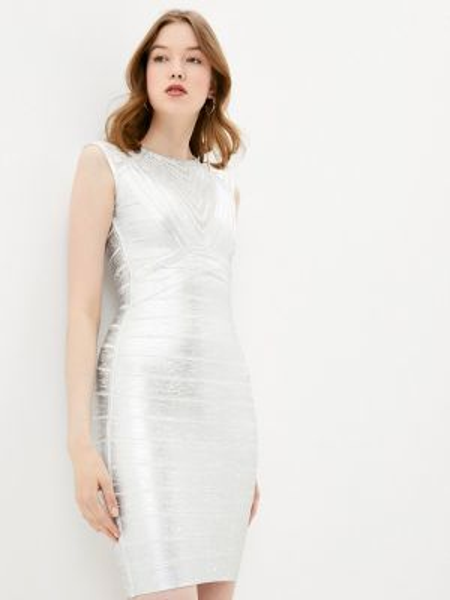 Серебряное платье Soky & Soka