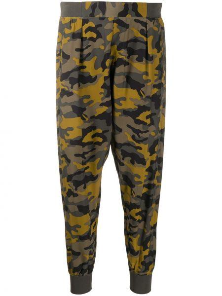 Зеленые шелковые брюки с поясом Atm Anthony Thomas Melillo