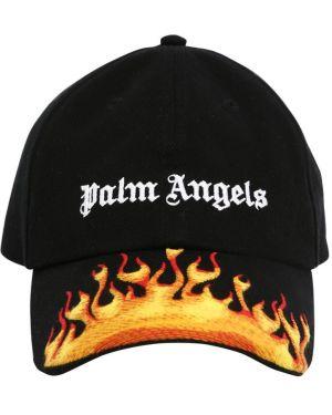 Kapelusz z logo brezentowy Palm Angels