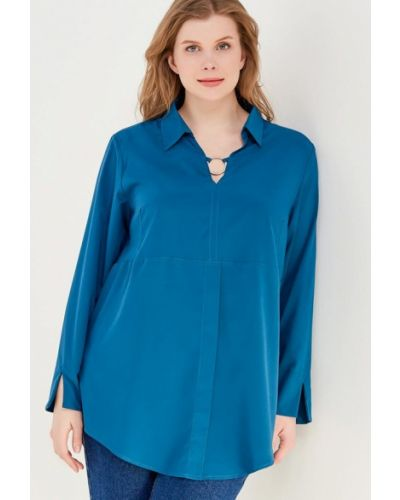 Синяя блузка Svesta