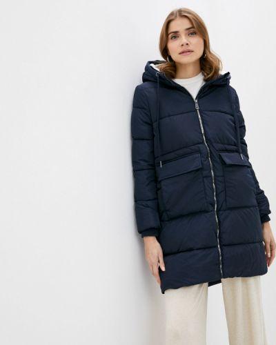 Утепленная синяя куртка Zolla