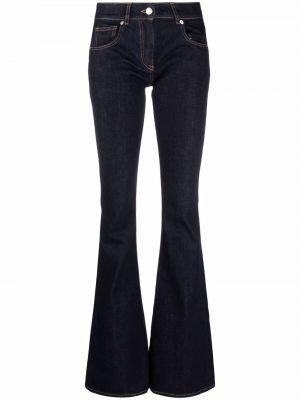 Синие джинсы из полиэстера Blumarine