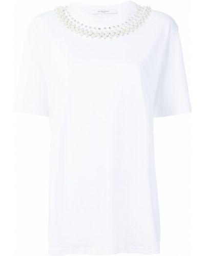 Bawełna koszula krótkie rękawy z kołnierzem Givenchy
