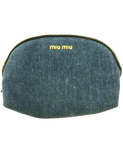 Niebieska kopertówka Miu Miu Vintage