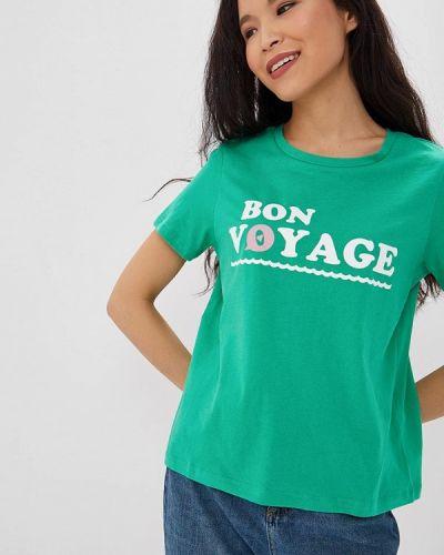 Зеленая футболка 2019 Vero Moda