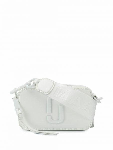 Biała torebka mini skórzana na co dzień Marc Jacobs