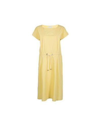Вечернее платье деловое с поясом Fabiana Filippi
