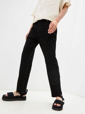 Прямые джинсы - черные Iceberg