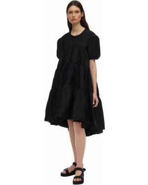Sukienka midi mini z falbankami Cecilie Bahnsen