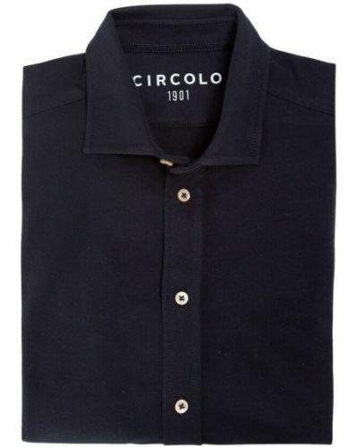 Niebieska t-shirt Circolo 1901