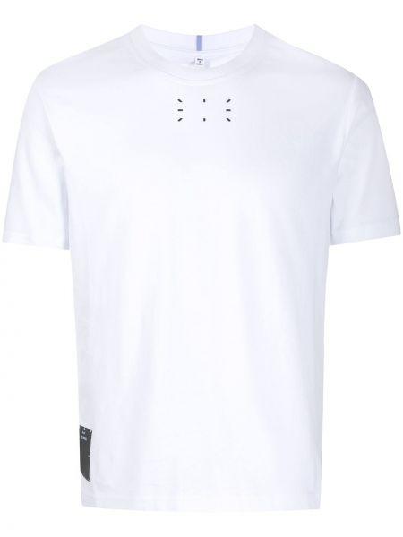 Biały t-shirt bawełniany z printem Mcq Alexander Mcqueen
