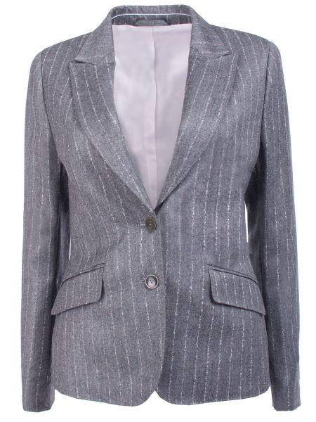 С рукавами шерстяной пиджак с воротником на пуговицах Van Laack