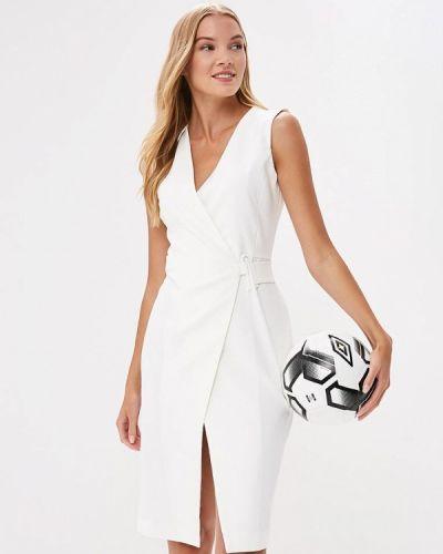 Белое платье с запахом Imperial