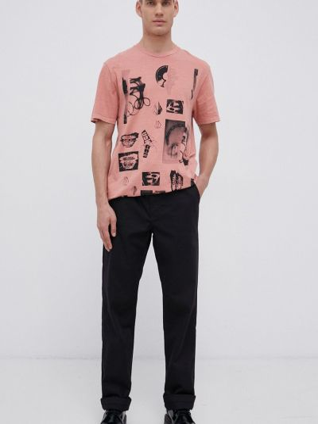 Хлопковая футболка Volcom