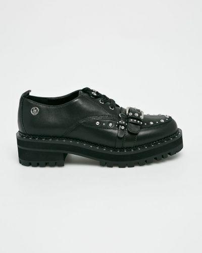 Туфли на каблуке с шипами кожаные Liu Jo