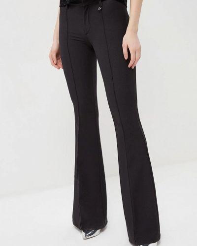 Черные расклешенные брюки Met