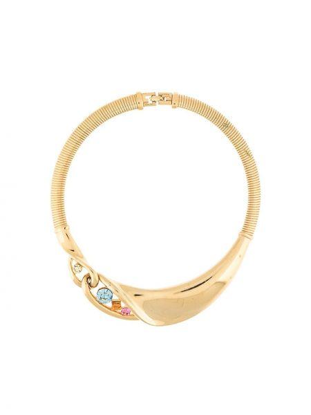 Ожерелье золотое металлическое позолоченное Givenchy Pre-owned