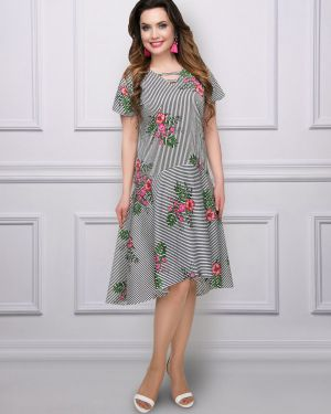 Платье из поплина платье-сарафан Charutti