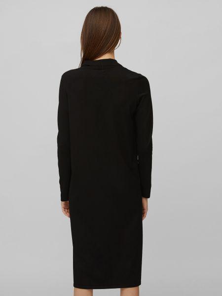 Платье макси с разрезом с воротником на пуговицах Marc O'polo