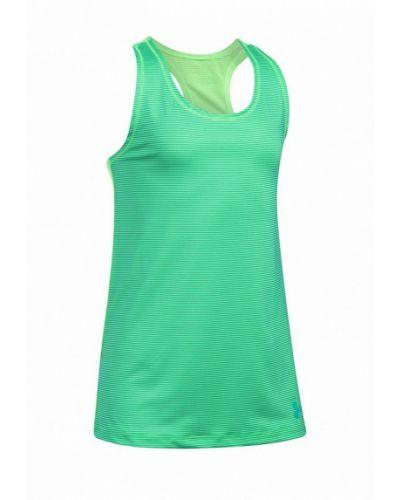Зеленый топ спортивный Under Armour