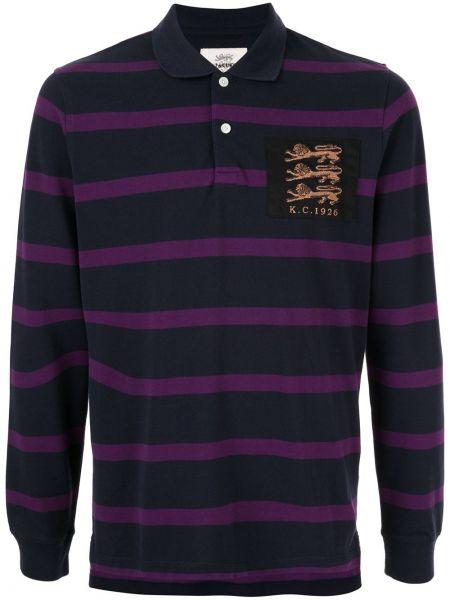 Koszula z długim rękawem w paski z paskami Kent & Curwen