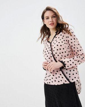 Блузка с длинным рукавом розовая весенний Panda