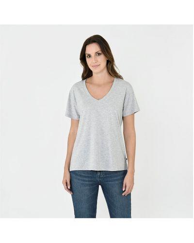 Szara t-shirt bawełniana Firetrap