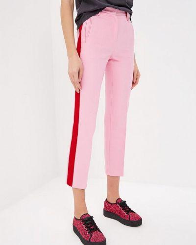 Розовые брюки повседневные Pinko