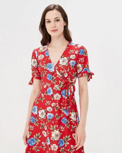 Красное платье весеннее Qed London