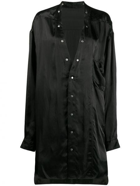 Рубашка с длинным рукавом в полоску под запонки Rick Owens