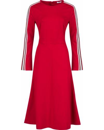 Платье из вискозы - красное Sfizio