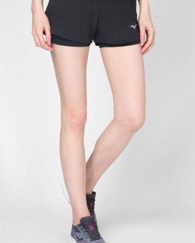 Черные спортивные шорты Mizuno
