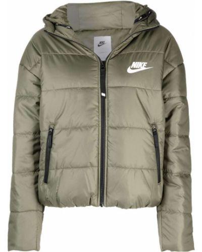 Белая куртка с капюшоном Nike