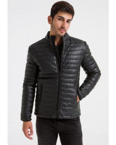 Кожаная куртка - черная Ltb