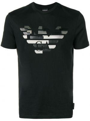 Koszula, czarny Emporio Armani