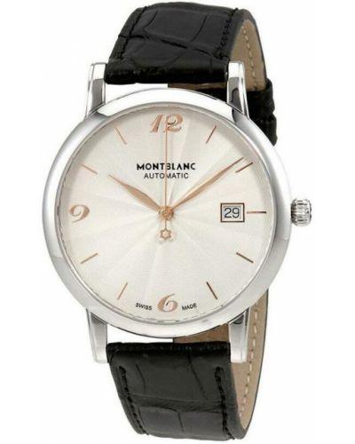 Szary zegarek Montblanc