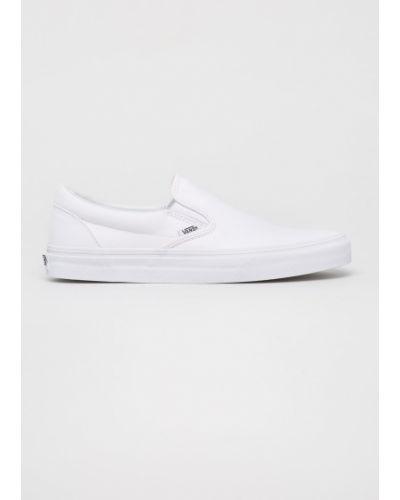 Slipony klasyczny biały Vans