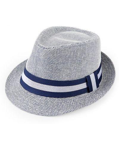 Прямые шляпа-федора в полоску Marcus Adler
