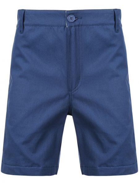 Niebieskie krótkie szorty z paskiem bawełniane Dickies Construct