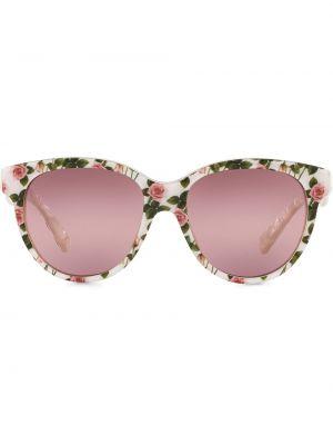 Розовые солнцезащитные очки круглые Dolce & Gabbana Eyewear