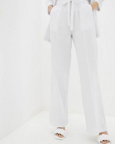 Белые брюки Zubrytskaya