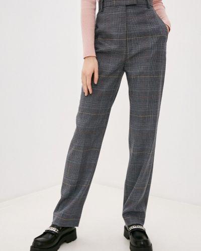 Повседневные серые брюки Paul & Joe